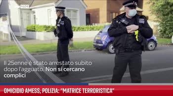 Omicidio Amess, polizia: ?Matrice terroristica?