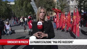 """A Roma la manifestazione """"Mai più fascismi"""""""