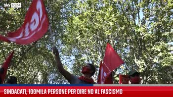 Roma, piazza San Giovanni piena per dire no al fascismo