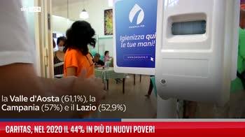 Caritas, nel 2020 il 44% in pi� di nuovi poveri