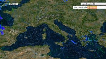 Meteo: instabile tra Sicilia e Calabria, soleggiato altrove