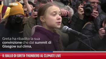 Il ballo di Greta Thunberg al Climate Live