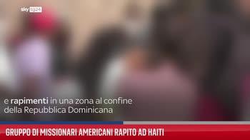 Gruppo di missionari americani rapito ad Haiti