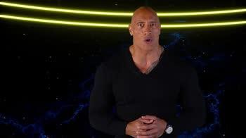 Black Adam, The Rock nella prima clip del film DC
