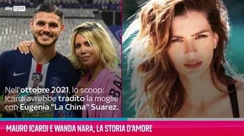 VIDEO Mauro Icardi e Wanda Nara, la loro storia d'amore