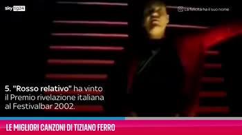 VIDEO Tiziano Ferro, le sue migliori canzoni