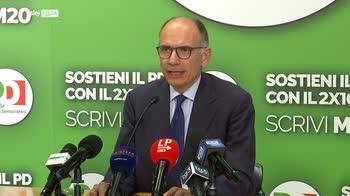 Direzione PD, Letta pieno sostegno a Draghi