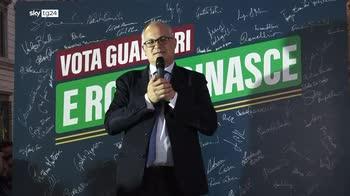 Gualtieri: uniti si vince, ora governiamo e cambiamo Roma