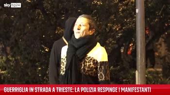 Green pass, a Trieste nuovi scontri in serata
