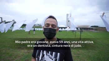 ERROR! Covid, testimonianze dei familiari delle vittime in Brasile