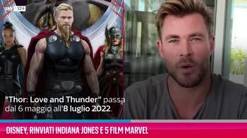 VIDEO Disney, rinviati Indiana Jones e 5 film Marvel