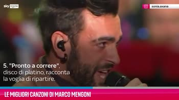 VIDEO Marco Mengoni, le sue migliori canzoni
