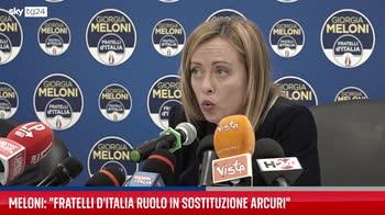 """Covid, Meloni: """"Arcuri? Ci dà ragione anche magistratura"""""""