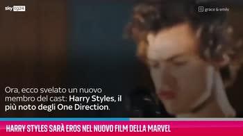VIDEO Harry Styles sarà Eros nel nuovo film della Marvel