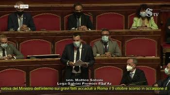 ERROR! Salvini: Ministro Lomargese si prenda le sue responsabilit�