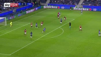 Champions, Porto-Milan 1-0: gol, video e highlights
