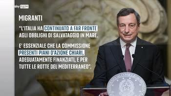Il discorso Draghi analizzato allo SkyWall