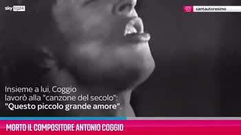 VIDEO Morto il compositore Antonio Coggio