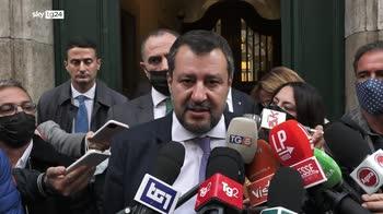 ERROR! Salvini, Su manovra centrodestra compatto da Draghi