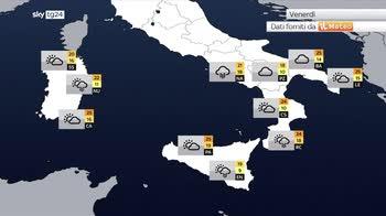 Meteo, maltempo persistente al sud da sabato per pi� giorni