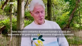Bill Clinton dimesso dall'ospedale: commosso per il sostegno