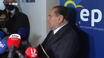 Berlusconi: Draghi al Colle? Come premier pi� vantaggi a Paese