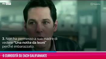 VIDEO Zach Galifianakis, 6 curiosità su di lui