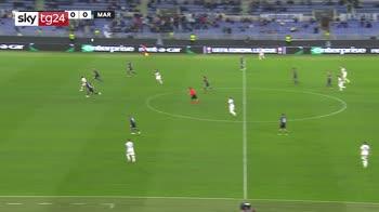 Europa League, Lazio-Ol. Marsiglia 0-0: video e highlights