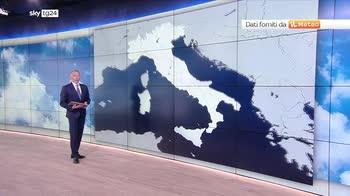 Meteo: maltempo nel weekend al centro-sud, nebbie al nord
