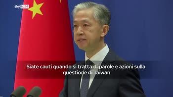 ERROR! Cina: Usa rispetti il principio di una sola Cina