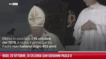 Oggi, 22 ottobre, si celebra San Giovanni Paolo II