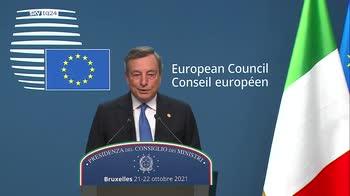 Draghi: nessuno ha dubbi che il governo italiano sia europeista