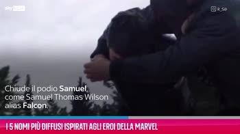 VIDEO I 5 nomi più diffusi ispirati agli eroi della Marvel