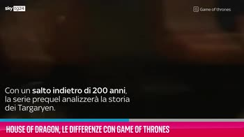VIDEO House of Dragon, le differenze con Game of Thrones