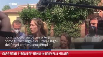 Caso Eitan, i legali dei nonni in udienza a Milano