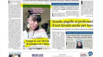 Rassegna stampa, i giornali del 23 ottobre