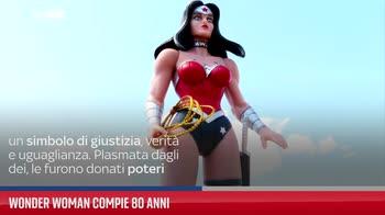 Wonder Woman compie 80 anni