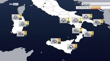 Meteo: caduti 300 mm, allerta rossa in Sicilia e Calabria