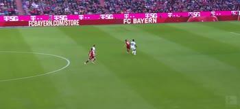 Il gol di Lewandoski, Bayern Monaco-Hoffenaim