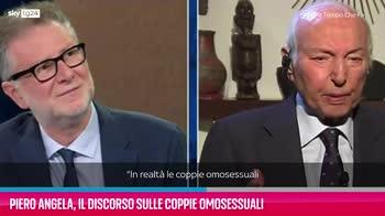 VIDEO Piero Angela, il discorso sulle coppie omosessuali