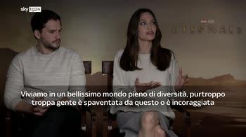 "Angelina Jolie in ""Eternals"", l'intervista a Skytg24"