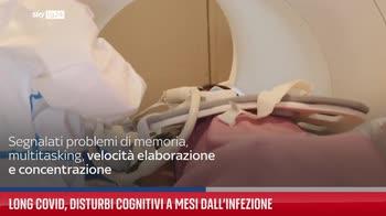 Long Covid, disturbi cognitivi a mesi dall?infezione