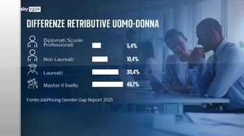 Disparit� di genere, le ragioni delle differenze di retribuzione uomo-donna