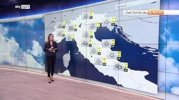 Previsioni meteo: maltempo fino a domenica al sud