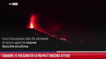 Canarie, il vulcano di La Palma � ancora attivo