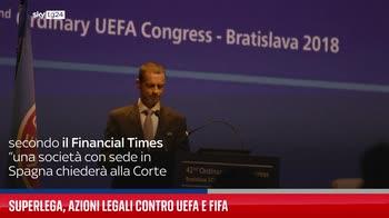 Superlega, azioni legali contro Uefa e Fifa