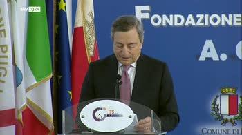 ERROR! Draghi: risorse per Sud senza precedenti, spenderle bene