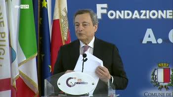 ERROR! Draghi: ai giovani spetta il compito di trasformare l'Italia