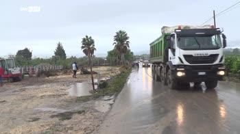 Maltempo in Sicilia, si contano i danni dell'alluvione lampo
