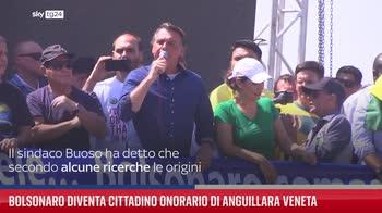 Bolsonaro diventa cittadino onorario di Anguillara Veneta